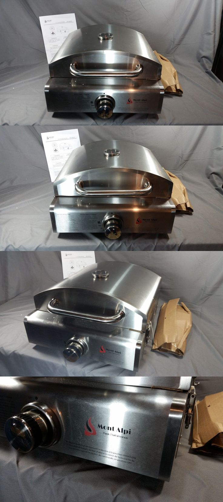 Camping Ovens 181387: Mont Alpi Portable Propane Pizza Oven Grill Magr - New, No Box W Cosmetic Marks -> BUY IT NOW ONLY: $126 on eBay!