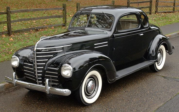 1939 Plymouth Road King Coupe Classic Mopars Pinterest