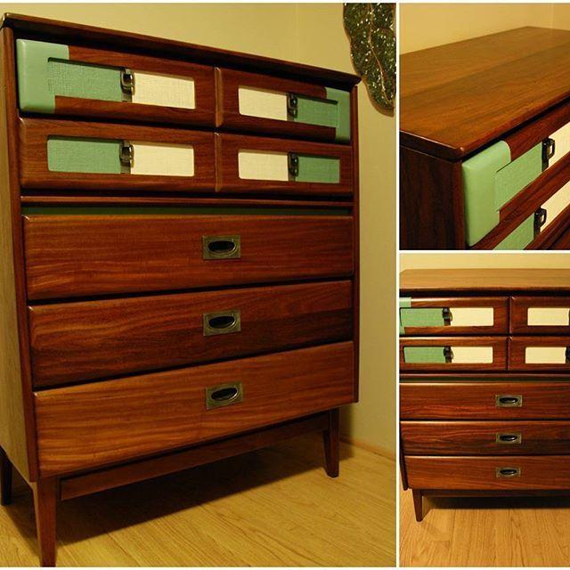 Solid Teak MCM Dresser - Sold.  #teak  #mcm #dresser