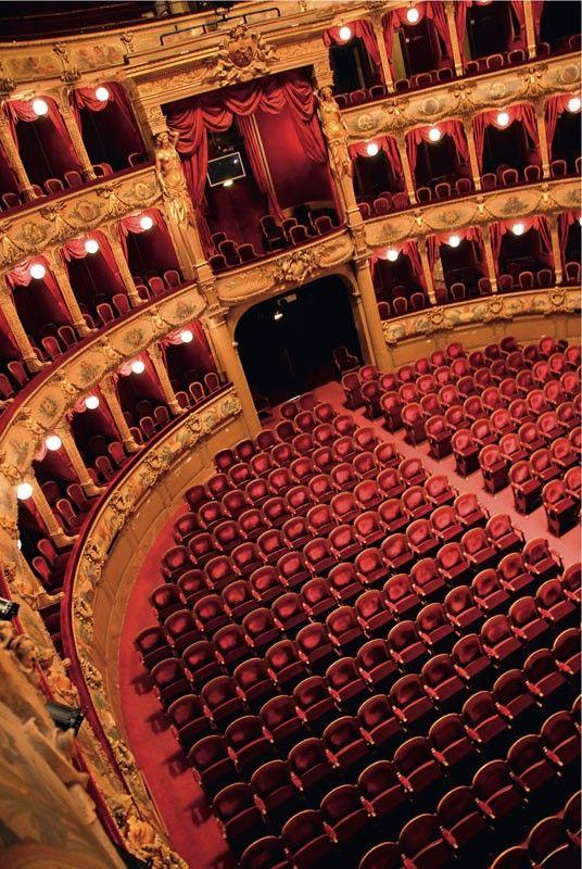 Opéra de Nice Côte d'Azur - Vue de l'auditorium.