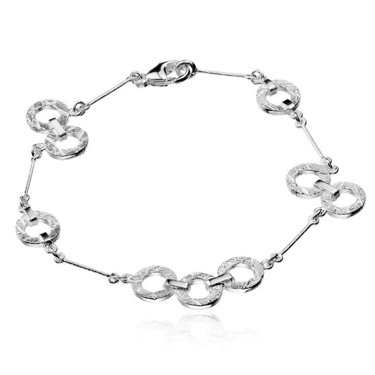 BUBBLESTANCES  Design Christophe Burger / Silver Bracelet / Lapponia Jewelry / Handmade in Helsinki