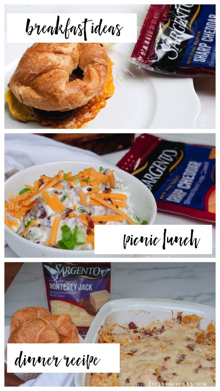 #ad Fresh Meal ideas for breakfast, lunch and dinner with @SargentoCheese #RealCheesePeople #IC