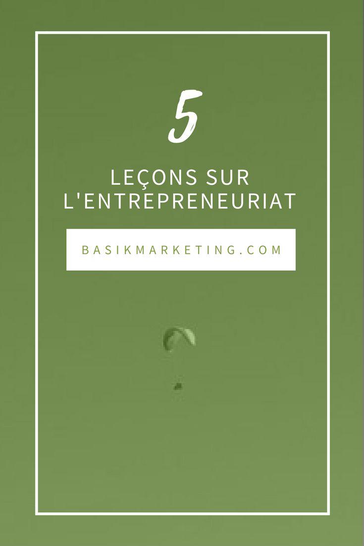 5 leçons que j'ai apprises en tant qu'entrepreneure | BASIK