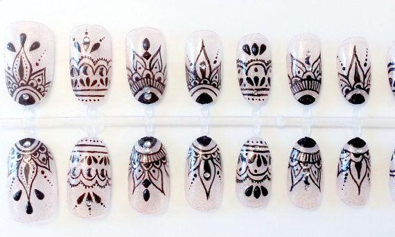 mandala nails - Pesquisa Google