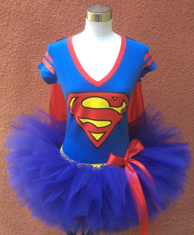 Superman Tutu, Superhero Running Tutu, Running Tutu, by ShellyRioBoutique on Etsy
