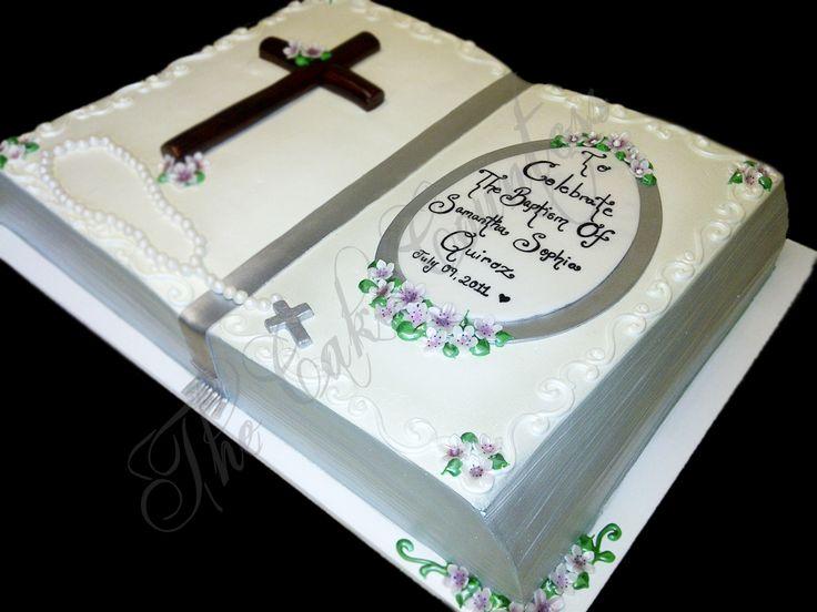 8 Best Baptism Christening Cakes Images On Pinterest Christening