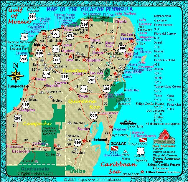 Bill In Tulsa Com Map Of The Yucatan Mexico Area Maps