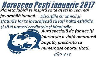 diane.ro: Horoscop Peşti ianuarie 2017