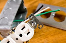Several years of Electrical job experiences we have.So we think we have fully confidence to do so. Labor: From $50/outlet