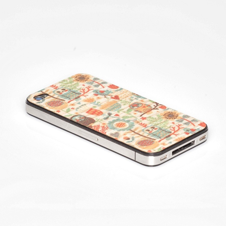Skin 4s floreale by Wood'd $12