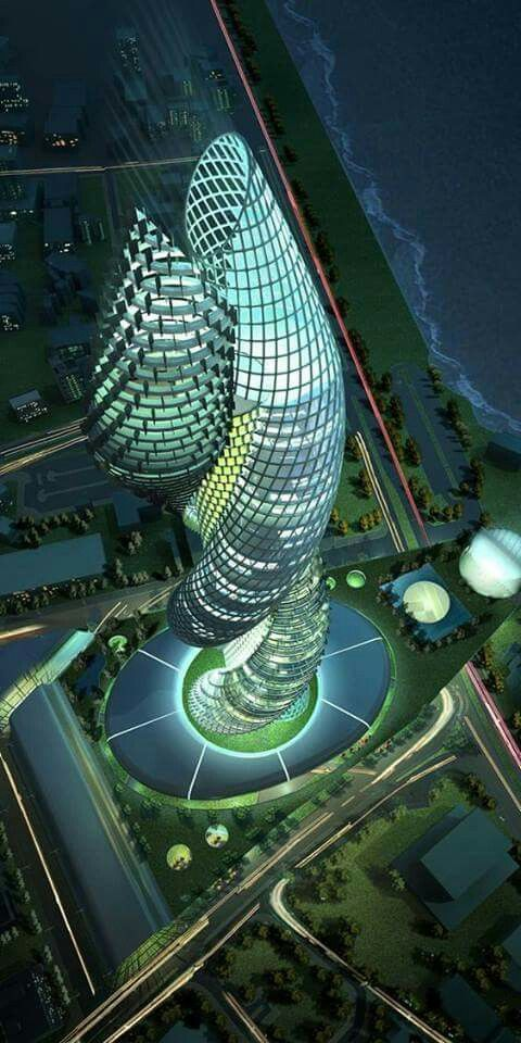 Cobra Towers, Kuwait, Middle East