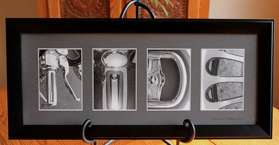 RIDE2 PRINT FRAMED-Alphabet Letter Photography by TheIronLetter