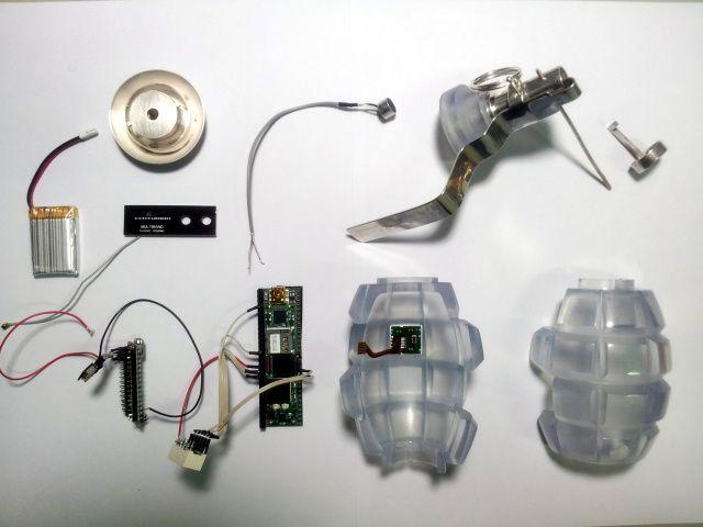 The Transparency Grenade - Julian Oliver, 2012
