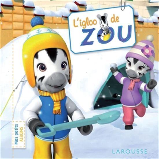 Alors que la neige a recouvert le jardin, Zou décide de construire un igloo en creusant dans un gros tas de neige ou en empilant des boules de neige, puis des briques modelées dans un moule. Mais aucune technique n'est satisfaisante et Zou commence à se décourager.