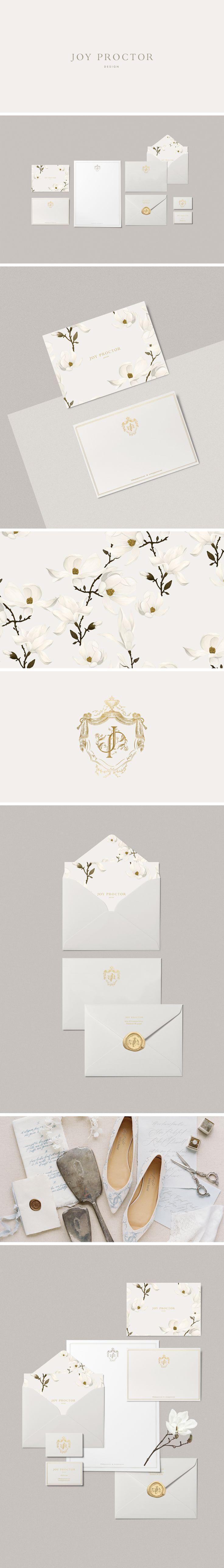 Joy Proctor brand identity designed by Cocorrina