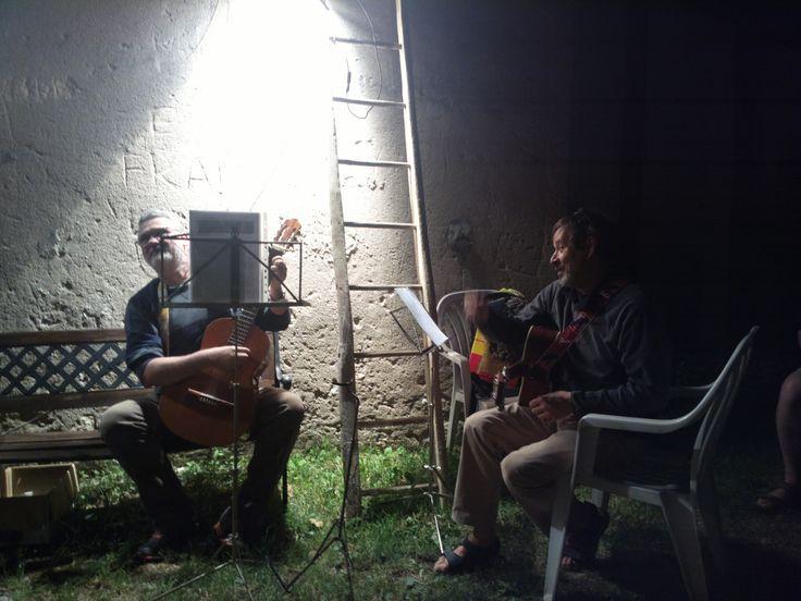Trenta amici a cantare Guccini a Selva di Progno - 22 Giugno 2013