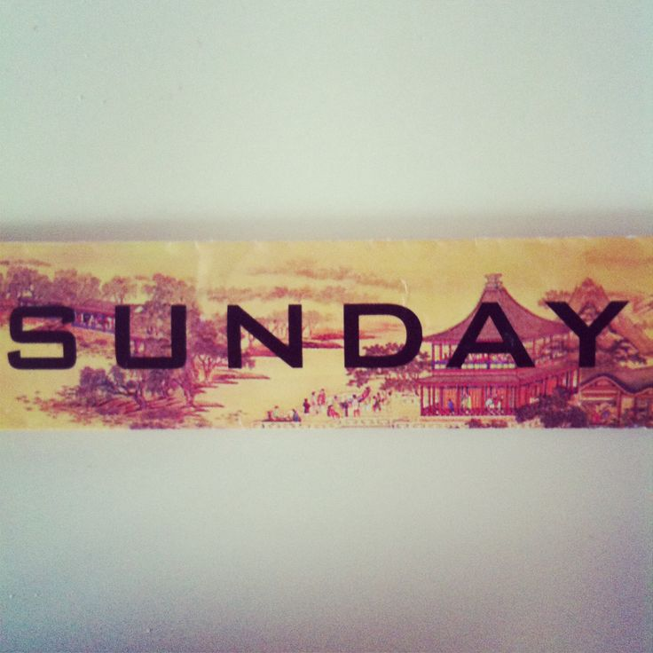 #sunday #domingo