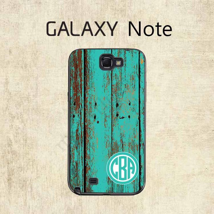 Galaxy Note 4 Case - Galaxy Note 5 Case  - Teal Wood Galaxy S6 Case - Monogram Galaxy Note 2 Case - Samsung Galaxy Case - Galaxy Note 3 Case by mylittlecase on Etsy https://www.etsy.com/listing/176717624/galaxy-note-4-case-galaxy-note-5-case