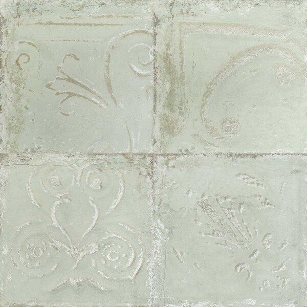 Sassuolo 12 X 12 Porcelain Vintage Wall Floor Tile In 2020 Porcelain Flooring Colorful Tile Floor Floor And Wall Tile