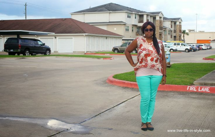WHAT I WORE: 'In Color' Denim - Live Life in Style - Houston Fashion Blogger