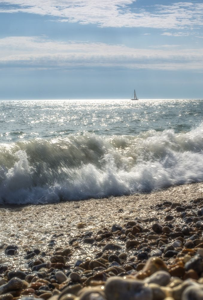 The Waves of Life by Bota Dorin