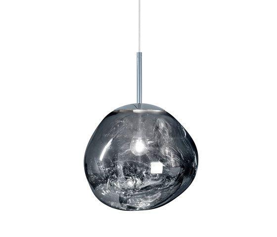 Melt Mini Pendant Chrome by Tom Dixon | General lighting