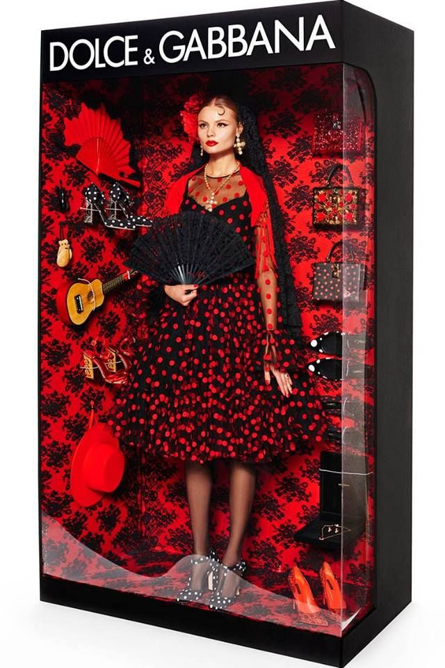 """muñecas de alta costura"" #Dolce&Gabbana"