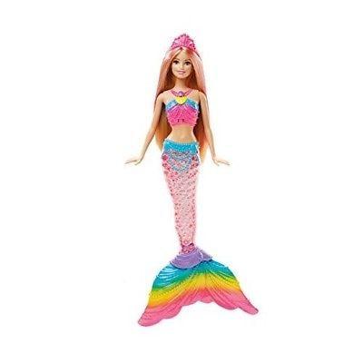 Barbie-Mermaid-Doll-Rainbow-Lights-Up-Light-Dolls-Bundle-Magical-Water-Girls-Toy