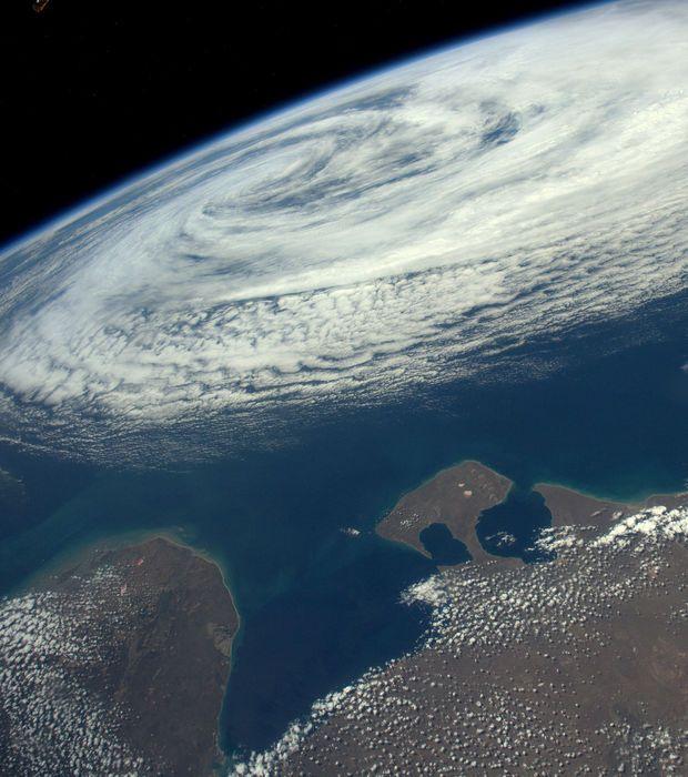 Tempête tropicale au dessus de l'Argentine
