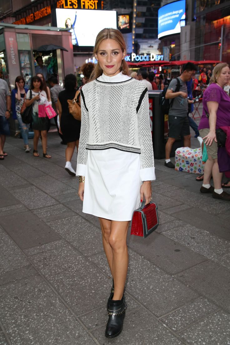 Olivia+Palermo's+Genius+Trick+for+Making+Mini+Lengths+Look+High+End+via+@WhoWhatWearAU