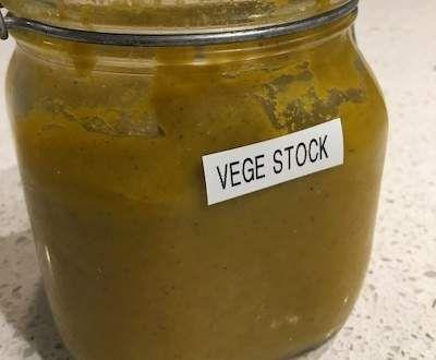 Recipe FODMAP Vegetable Stock Paste by myrkids - Recipe of category Basics