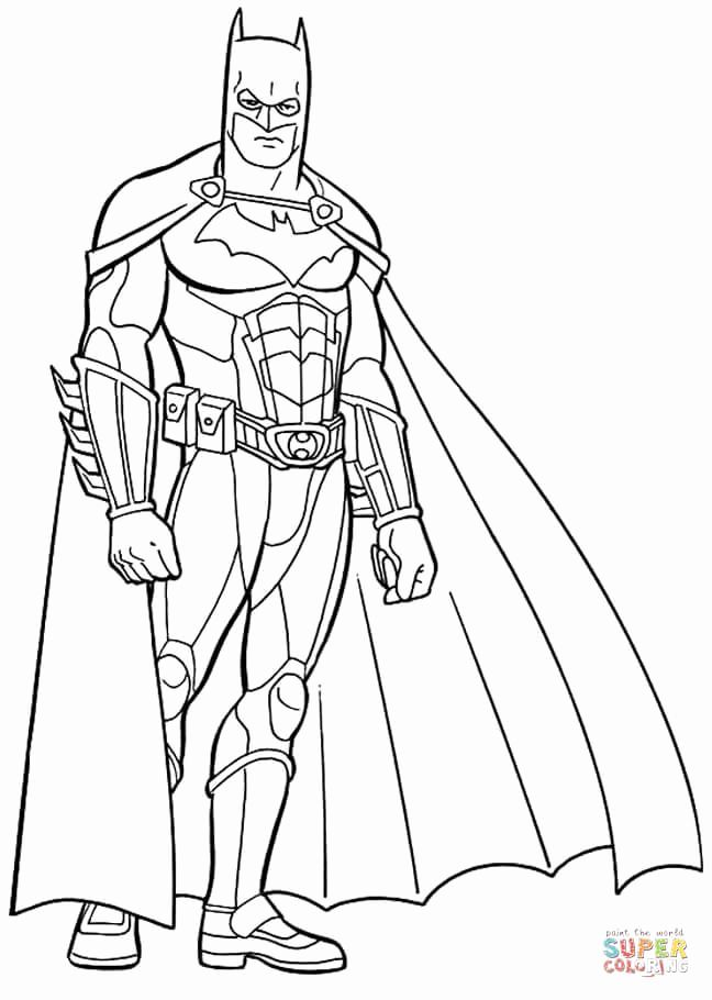 Batman Dark Knight Coloring Pages For Kids Superman Coloring Pages Batman Coloring Pages Superhero Coloring