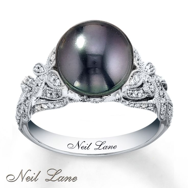 I LOVE this ring..its a black pearl and that's what he says I am,rare &hard to find