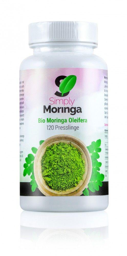Bio Moringa Presslinge 120 Stück