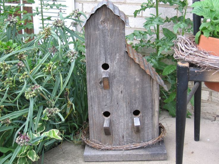 Birdhouses made from barnwood birdhouse made from old - Old barn wood bird houses ...
