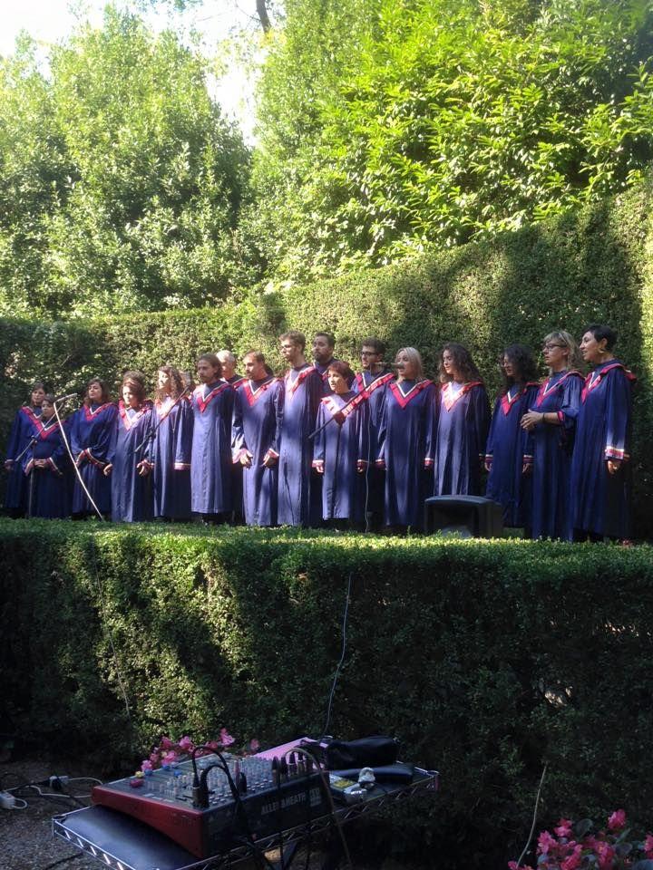 Wedding Ceremony and Gospel Choir