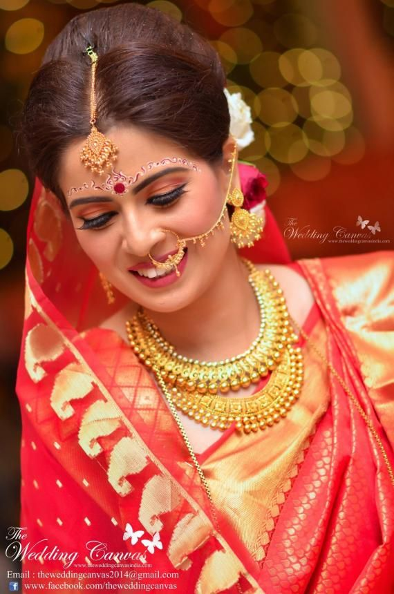 64 Best Images About Bengali Bridal Make Up On Pinterest
