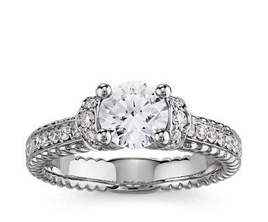 54 best blue nile engagement rings images on pinterest