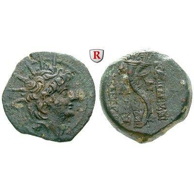 Syrien, Königreich der Seleukiden, Alexander II., Bronze, ss+: Alexander II. 128-123 v.Chr. Bronze 21 mm Antiochia. Kopf r. mit… #coins