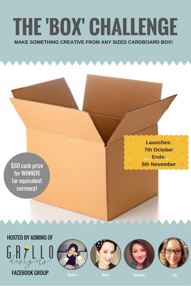 MOVING HOUSE BOX DIY CHALLENGE- TAKE PART NOW