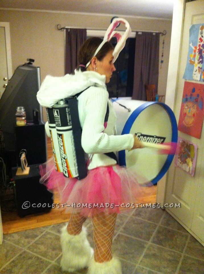 Coolest Homemade Energizer Bunny Costume... Coolest Homemade Costumes
