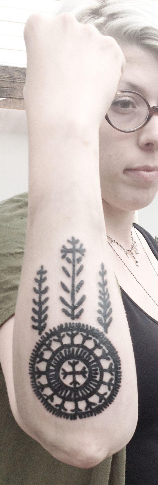 traditional Croatian/Bosnian tattoo