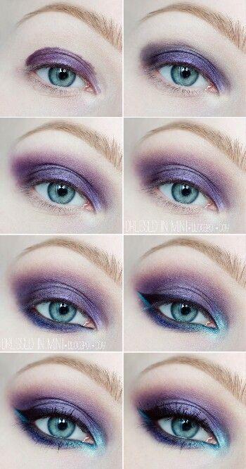 Blue & purple. © dressed-in-mint