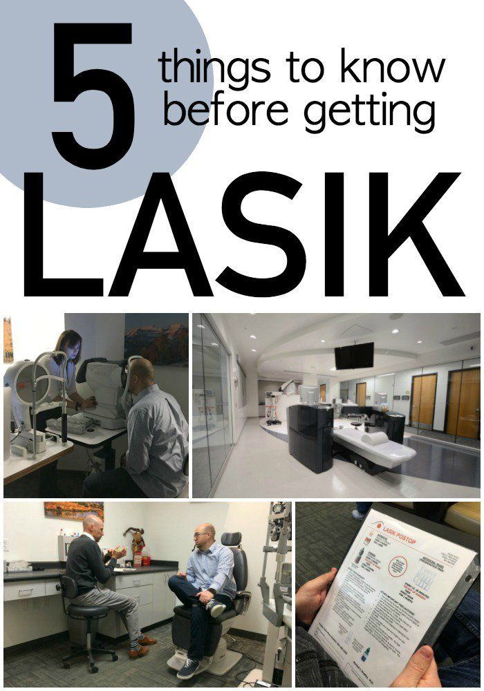 5 Things To Know Before Getting LASIK Eye Surgery | Six Sisters' Stuff