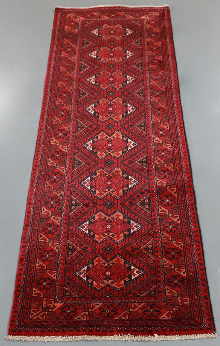 Kundus Mohommadi Tribal Runner (Ref 149) 202x66cm - PersianRugs.com.au