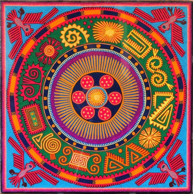 Arte Huichol - nierikas