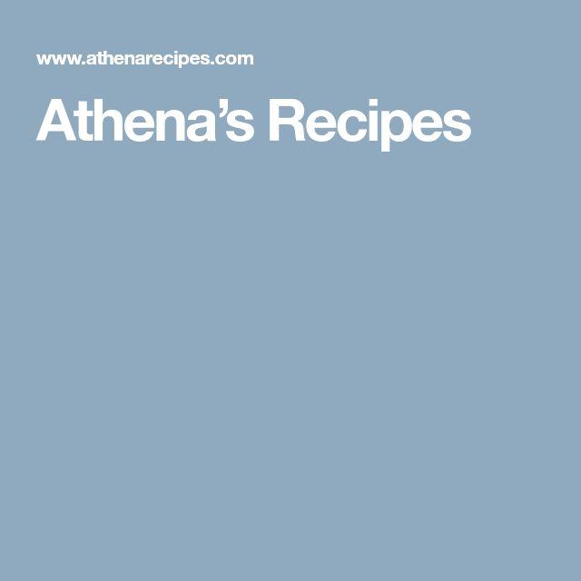 Athena's Recipes