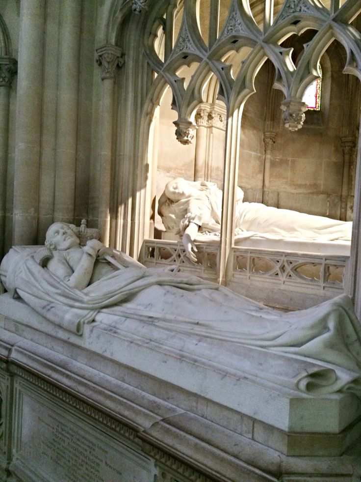 The tombs of Ferdinand-Philippe, Duke of Orléans and Hélène de Mecklembourg-Schwerin, Duchess of Orléans, Royal Chapel, Dreux, France
