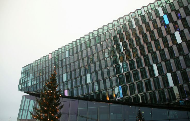 concert hall Harpa #architecture #iceland #reykjavik