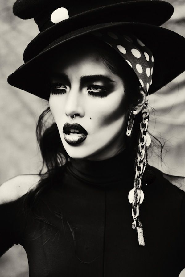 Photographer Vikram Pathak has created one of the best Goth fashion editorials we think currently exists in the high fashion arena.
